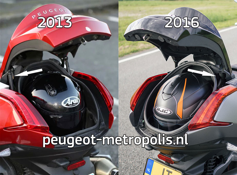 Metropolis 2015 Facelift Differences Peugeot Metropolis Drivers Club